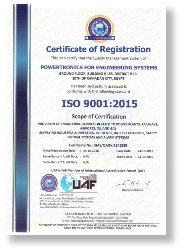 engineering iso powertronics eg certificate systems certificates